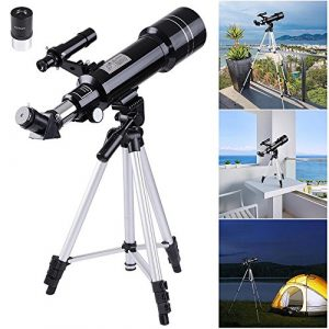 AW-70mm-Astronomical-Refractor-Telescope-Refractive-Spotting-Scope-Eyepieces-Tripod-Kids-Beginners-0