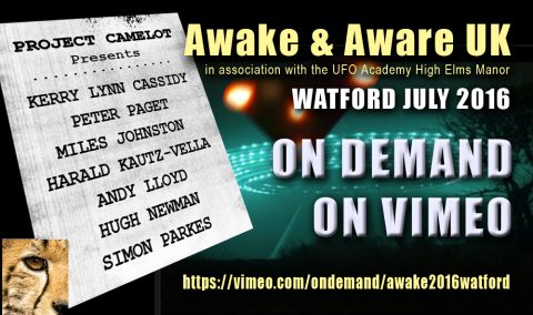 AWAKE & AWARE 2016 WATFORD UK