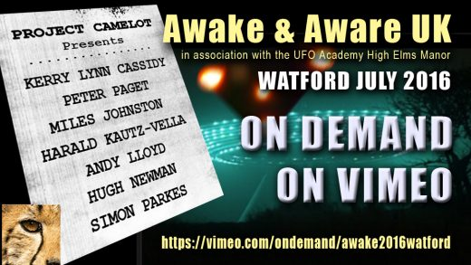 NOW LIVE ON VIMEO : AWAKE UK CONFERENCE : WATFORD HIGH ELMS