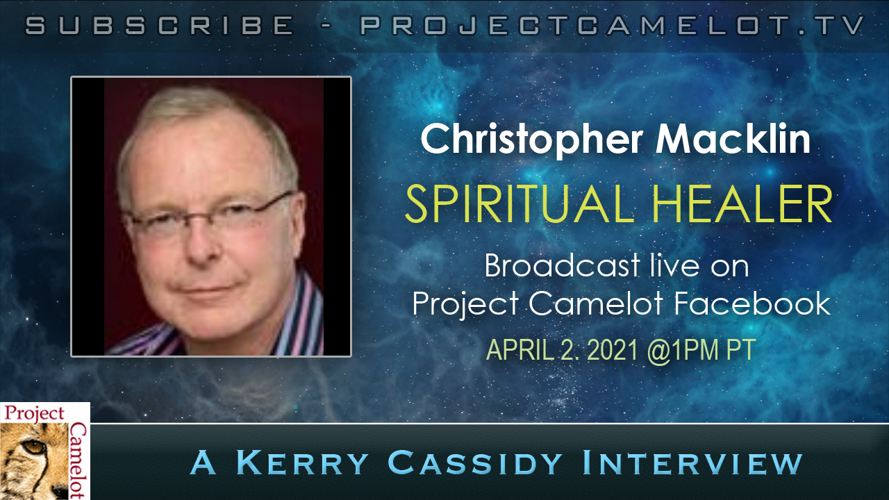 CHRISTOPHER MACKLIN:  SPIRITUAL HEALER – INTERVIEW