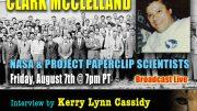 CLARK MCCLELLAND :  NASA &  PROJECT PAPERCLIP SCIENTISTS