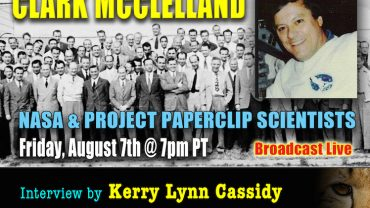 CLARK MCCLELLAND :  NASA &  PROJECT PAPERCLIP SCIENTISTS