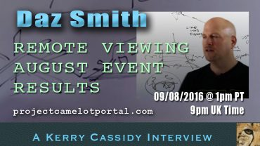 DAZ SMITH – REMOTE VIEWER – NOW ON YOUTUBE