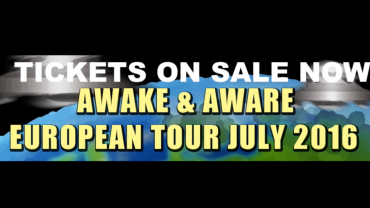 AWAKE & AWARE – EURO TOUR UPDATE