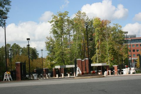 Exterior Gate - Main Facility - Defense Exotic Technology Activity