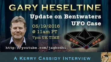 INTERVIEW WITH GARY HESELTINE: UPDATE ON BENTWATERS UFO CASE