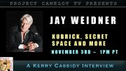 JAY WEIDNER INTERVIEW:  KUBRICK, SECRET SPACE AND MORE…