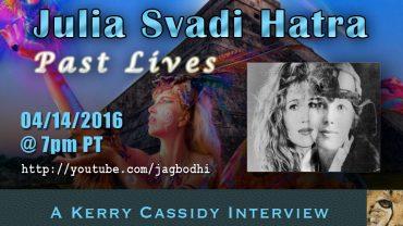 JULIA SVADI HATRA – INTERVIEW RE PAST LIVES – 7PM PT