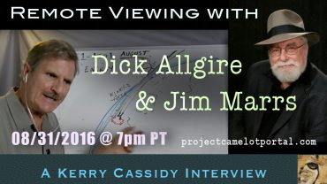 SHOW:  JIM MARRS & DICK ALLGIRE – REMOTE VIEWIING – WED 7PM PT