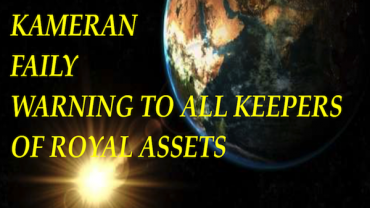 KAMERAN FAILY:  WARNING TO ALL KEEPERS OF ROYAL ASSETS