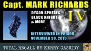 MARK RICHARDS IV – BLACK KNIGHT, DYSON SPHERES – KERRYS RECALL