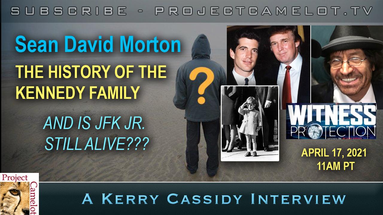 SEAN DAVID MORTON:  KENNEDY FAMILY & JFK JR.