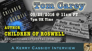 THIS WEEKS SHOWS:  TOM CAREY CHILDREN OF ROSWELL & CATHI MORGAN RE MK ULTRA