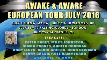 KERRY CASSIDY  EURO TOUR – MORE SPEAKERS ADDED!