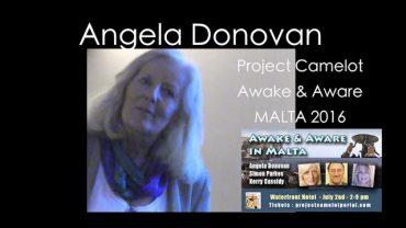 ANGELA DONOVAN – MEDIUM – MALTA AWAKE & AWARE CONFERENCE