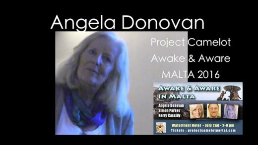 ANGELA DONOVAN – LIVE AT THE AWAKE & AWARE MALTA CONFERENCE SUMMER 2016