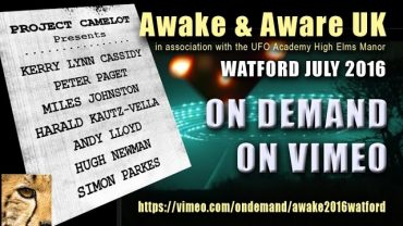 AWAKE & AWARE HIGH ELMS WATFORD CONFERENCE TRAILER