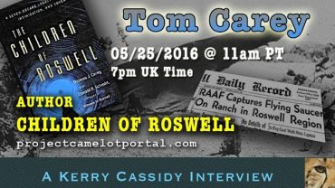 CHILDREN OF ROSWELL  –  INTERVIEW WITH TOM CAREY