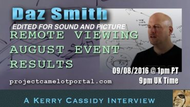 DAZ SMITH – REMOTE VIEWER RE AUGUST AND SEPT EVENTS