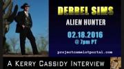 DERREL SIMS : ALIEN HUNTER – INTERVIEW NOW ON YOUTUBE