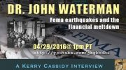 Doc Waterman – re FEMA, EQs and Financial Meltdown
