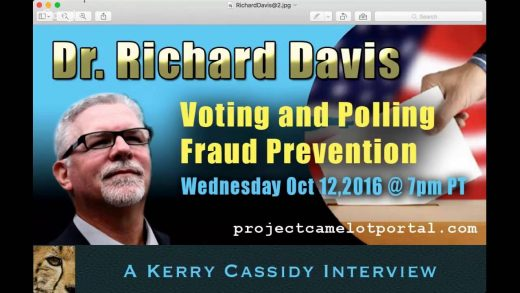 DR. RICHARD DAVIS – Lt Cmdr USN Ret – VOTER & POLL FRAUD