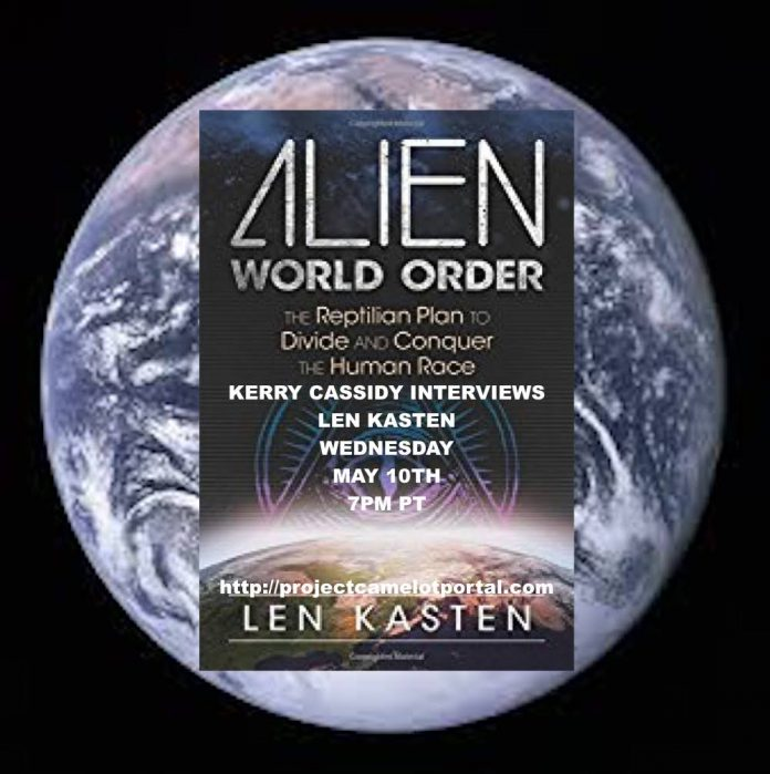 len kasten alien world order � guest wed night 7pm pt