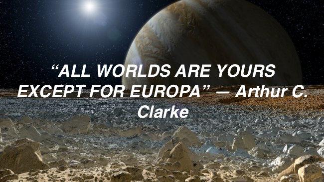 NASA : EUROPA ANNOUNCEMENT COMING…?