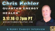 INTERVIEW WITH QUANTUM HEALER :  CHRIS KEHLER