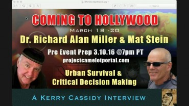 INTERVIEW WITH RICHARD ALAN MILLER AND MAT STEIN – MARCH 10TH