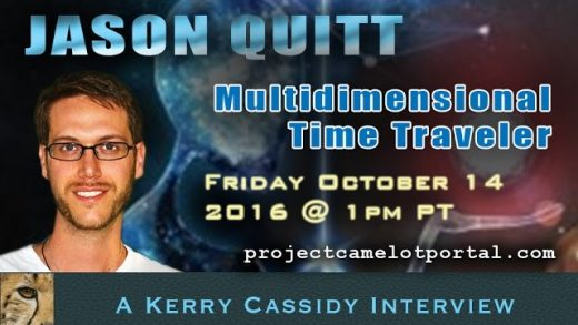 JASON QUITT – TIME TRAVEL & FORBIDDEN KNOWLEDGE