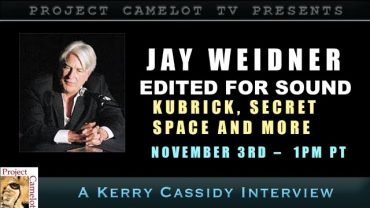 JAY WEIDNER:  KUBRICK, SECRET SPACE AND WILLIAM TOMPKINS MATERIAL – EDITED FOR SOUND