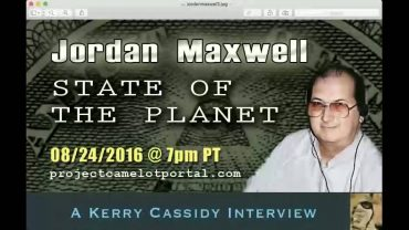 JORDAN MAXWELL INTERVIEW STATE OF THE PLANET