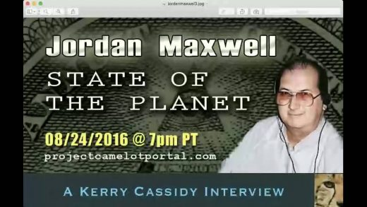 JORDAN MAXWELL IS MY GUEST 7PM PT WEDNESDAY AUG 24TH