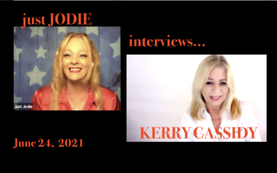 KERRY INTERVIEWED BY JUST JODIE – PATRIOT BROADCASTER