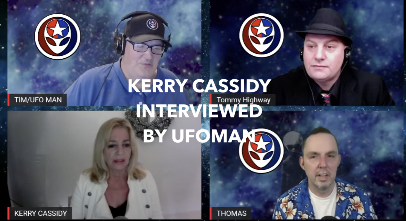 KERRY INTERVIEWED BY UFOMAN