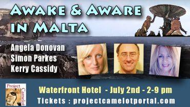 AWAKE AND AWARE MALTA – JULY 2ND!