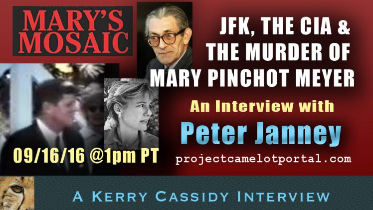 INTERVIEW WITH PETER JANNEY –  JFK, THE CIA & THE DEATH OF MARY MEYER – ON YOUTUBE