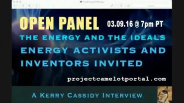 OPEN PANEL : THE ENERGY AND THE IDEALS : INVENTORS AND ACTIVISTS INVITED 7PM PT WED MARCH 9TH