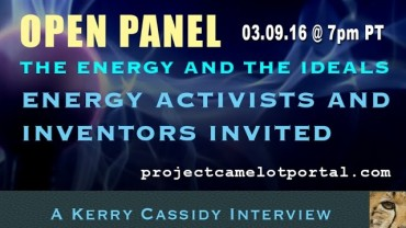 OPEN DISCUSSION:   ENERGY PANEL : ZPE / FREE ENERGY