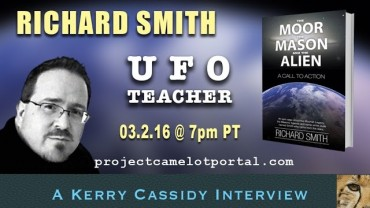 INTERVIEW WITH RICHARD SMITH – UFO TEACHER