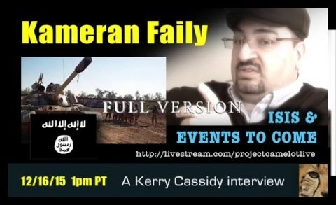 KAMERAN FAILY INTERVIEW III :  ISIS & EVENTS TO COME : PLANET X
