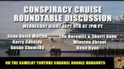 CONSPIRACY CRUISE VIDEO ROUNDTABLE DISCUSSION