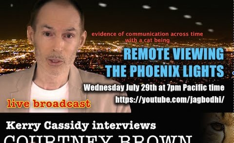 COURTNEY BROWN : REMOTE VIEWING THE PHOENIX LIGHTS