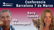 KERRY CASSIDY & OLE DAMMEGARD IN BARCELONA MARCH 7, 2015