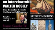 PROJECT CAMELOT:  WALTER BOSLEY, RE TEMPLAR MYSTERY