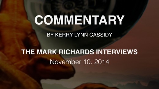 COMMENTARY TO THE MARK RICHARDS INTERVIEWS