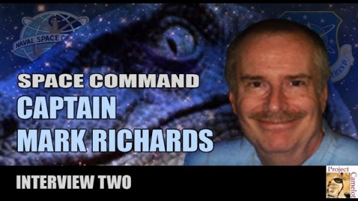 PROJECT CAMELOT:  CAPT MARK RICHARDS – SPACE COMMAND
