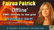 PATREA PATRICK :  EMPS, SOLAR FLARES AND THE GRID FULL VERSION