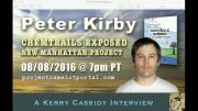 PETER KIRBY – CHEMTRAILS & THE NEW MANHATTAN PROJECT